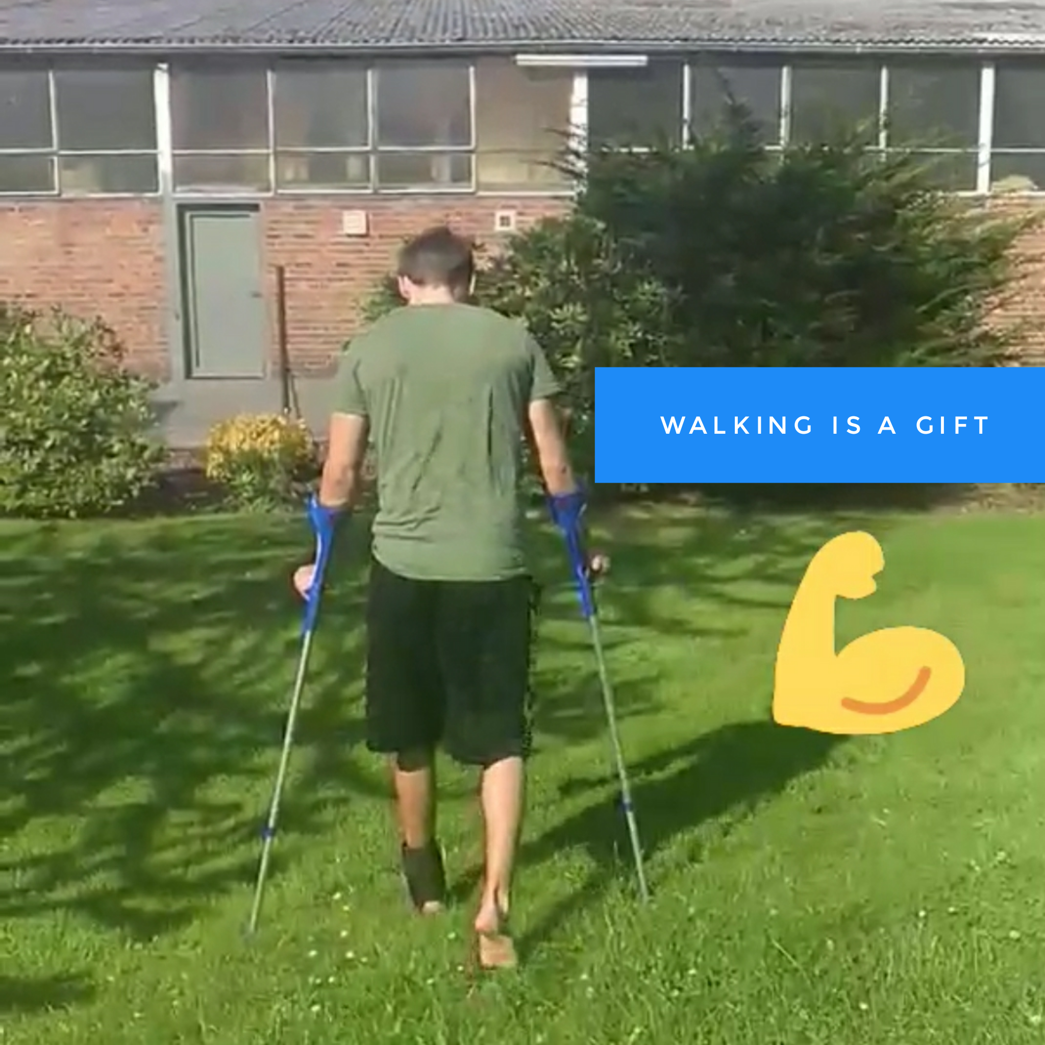 Walking is a gift