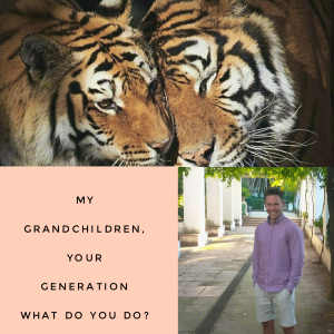 My grandchildren, your generation – What do you do?